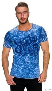 T-Shirt Mixed / Dark-Blue