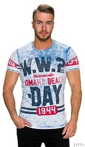 T-Shirt Mixed / White