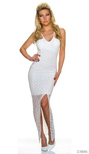 Maxi-Dress White