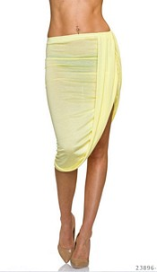 MidiSkirt Yellow