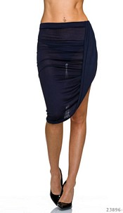 MidiSkirt Dark-Blue