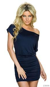 Mini-Dress Dark-Blue