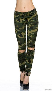 Leggings Camouflage / Olive