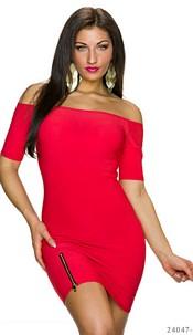 Mini-Dress Red