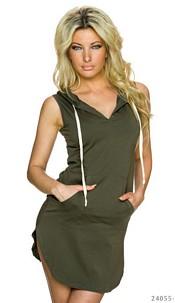 Mini-Dress Olive