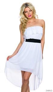 Mullet-Dress White