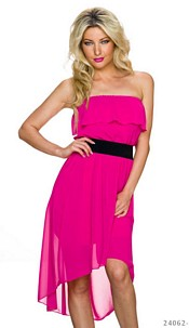 Mullet-Dress Fuchsia