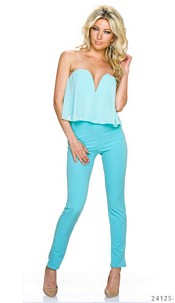 Jumpsuit Turquoise-Green