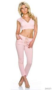 Top + Pants Pink