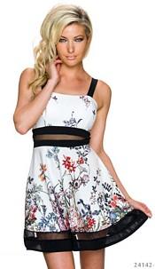 Mini-Dress White