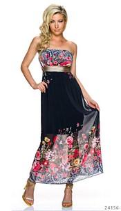 Maxi-Dress Black