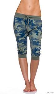 Capri-Pants Camouflage