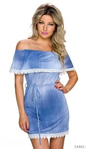 Mini-Dress Light-Blue
