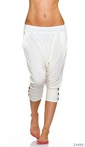 Harem-Pants White