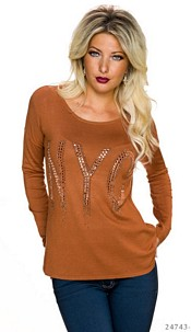 Sweat-Shirt Terracotta