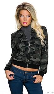 Jas Camouflage / Zwart