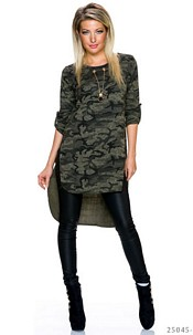 Long-Blouse Camouflage