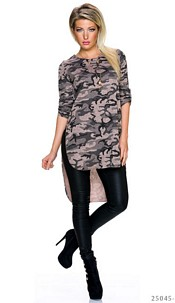 Long-Blouse Camouflage / Bruin