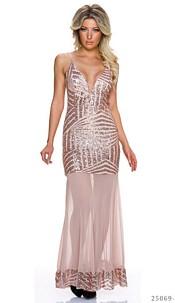Maxi-Dress Copper