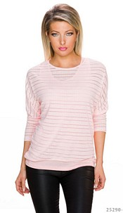 Top + Shirt Pink